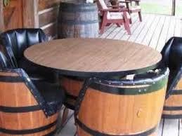 whiskey barrel table for sale 114 best whiskey barrel furniture images on pinterest barrels