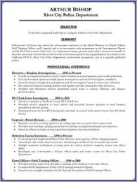 Resume For Promotion Law Enforcement Advacement Products Police Promote Law