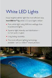 pentair intellibrite 5g color led pool light reviews pentair intellibrite 5g white led spa light 12v 150ft co