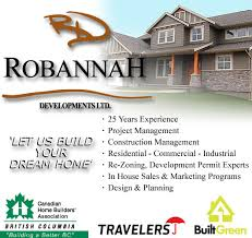 find local general contractors in comox bc robannah developments ltd