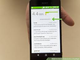 best flashlight for android how to use an android as a flashlight 12 steps with pictures