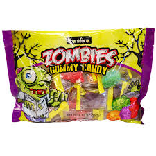 zombies gummy candy 8 88 oz great service fresh candy in