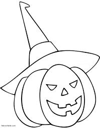 coloriages pour halloween sur fete enfants coloriage de citrouille