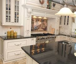 classic white kitchen design black l shape kitchen cabinet black