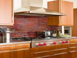 Red Kitchen Backsplash Ideas Colorful Backsplash Backsplash With Uba Tuba Kitchen Ideas