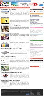 blogger atau blogspot portfolio blogspot template