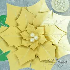 giant paper poinsettia flowers paper flowers printable flower