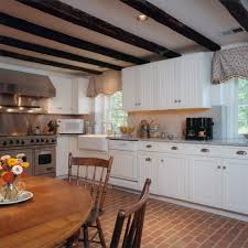 beadboard kitchen cabinet traditional with pantry doors black
