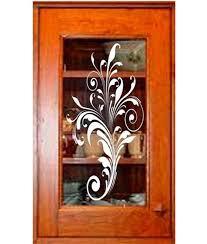 etched glass kitchen cabinet doors decorative cabinet door glass 5 wrg designs