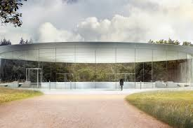 apple hosts first event at the norman foster u2013designed steve jobs
