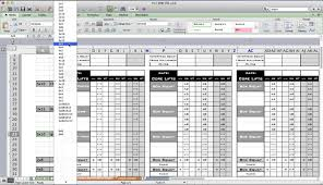Workout Excel Template Pt Fitness Excel Workout Template From Excel Designs