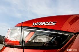 2016 toyota yaris sedan review doubleclutch ca