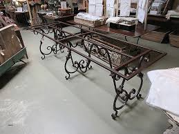 wrought iron dining room table metal dining room table bases luxury awesome wrought iron dining