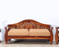 Two Seater Couch Solid Wood Furniture Two Seater Sofa