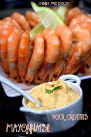 cuisine crevette mayonnaise maison pour crevette recettes faciles recettes