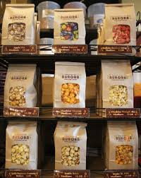 locally made sweet savory gourmet flavored popcorn made fresh daily
