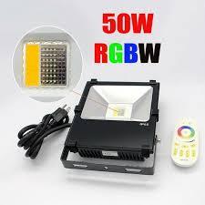 smart outdoor flood light new arrive rgbw 2 4g 10w 20w 30w 50w led flood light outdoor wifi