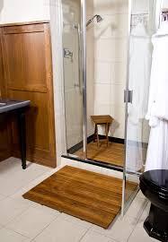 Wood Shower Stool Bahtroom Unique Teak Stool Bathroom Completing Rustic Seating