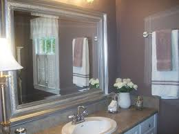 Purple And Grey Bathroom Bathroom Makeover At The Everyday Home