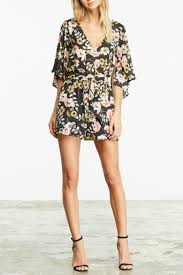 cupcakes u0026 cashmere emile floral romper from texas by le marche