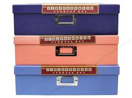 pioneer scrapbook box pioneer scrapbooking storage box 12 x 12 in assorted colors 1 pc