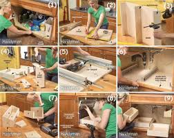kitchen diy ideas diy storage ideas how to build kitchen storage the sink