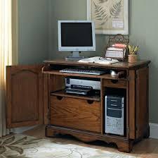 Teak Computer Desk Computer Desks For Small Spaces Cursosfpo Info