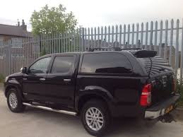 2012 toyota hilux d c 3 0 d4 d invincible manual 4x4 black low