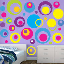 Kids Room Wall Decor Stickers by Circle Wall Stickers Circle Decals Kids Room Wall Stickers