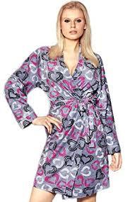 robe de chambre amazon l l femmes robe de chambre muster 1 s m amazon fr