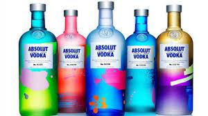 absolut vodka design limited edition absolut vodka bottle design creative cartels