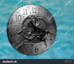 Emperor Grandfather Clock Value Grandfather Clock Face Floating Ocean Water Stock Photo 3406878