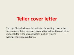 bilingual bank teller cover letter