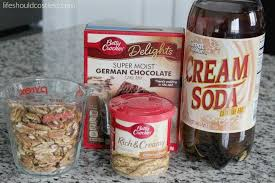 slow cooker german chocolate dump cake life should cost less