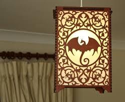 game of thrones u0027dragon u0027 lamp pendant