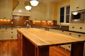 design ideas copper backsplash with recessed lighting and kitchen