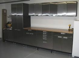 stainless steel kitchen furniture stainless steel wall mounted cabinets foter