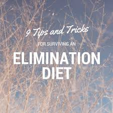 9 tips and tricks for surviving an elimination diet u2022 ocd kitchen