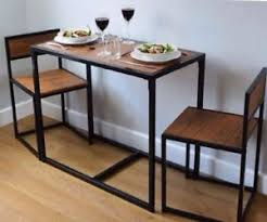 breakfast table and chairs space saver breakfast table fabulous space saver bar table large