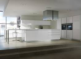 pure white themes german kitchen design inspirations with