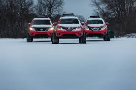 nissan sentra in snow nissan winter warrior concepts braves chilly chicago