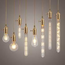 Led Bulbs For Chandelier Dimmable E27 Led Edison Cob Bulbs Retro Classic Filament Retro