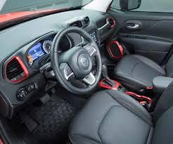Interior Jeep Renegade Jeep Renegade Base Model Interior Jeep Renegade Car Review Honest