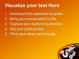 award winning numbers symbol powerpoint templates and powerpoint