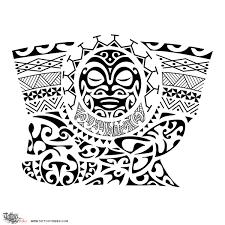 tahitian tattoos drawings samoan tattoo maori inspired designs