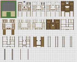 apartments large house blueprints minecraft large inn floorplans