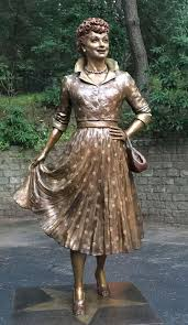 pictures of lucille ball lucille ball memorial park statues