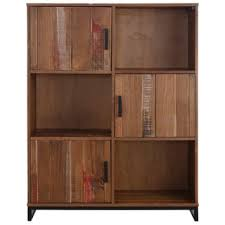 Pine Bookcase With Doors Distressed Bookshelves U0026 Bookcases Shop The Best Deals For Nov
