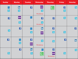 social media calendar and daily task list coffeebot solutions