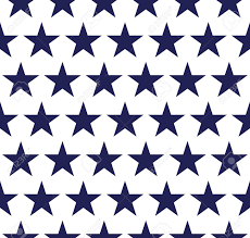 Usa Flag Vector Four Seamless Pattern With Stars In American Flag Colors Royalty